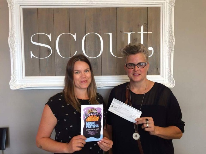 scout cheque