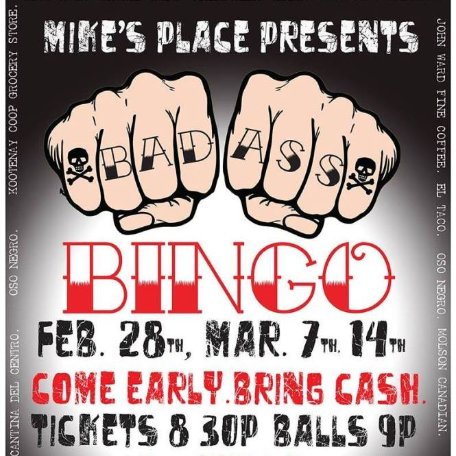bad ass bingo